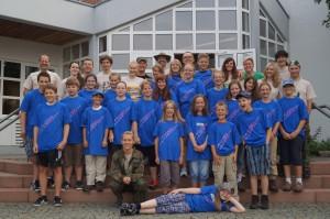 2013 - Motto: Wildlife - In 4 Tagen rund um den Pfälzerwald Gruppe ab 12 Jahren