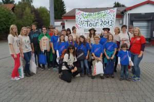 2013 - Teilnehmer aus den Sommerfreizeiten