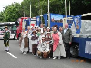 Im Mai 2013 vertrat der TBSV unsere Gemeinde beim Rheinland-Pfalz-Tag mit Umzug in Pirmasens anlässlich der 2014 bevorstehenden 800-Jahrfeier